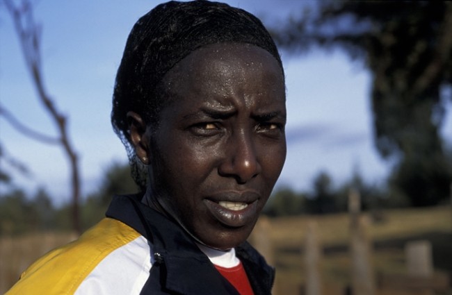 Lornah Kiplagat- high altitude training camp- Iten, Kenya
