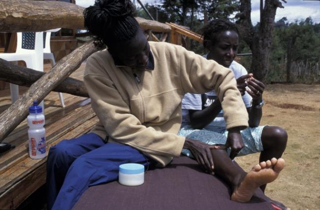Lornah Kiplagat- high altitude training camp- Iten, Kenya