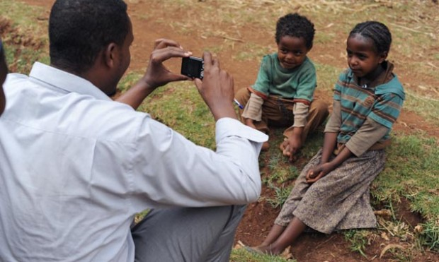 Communications training for Save the Children in Ethiopia