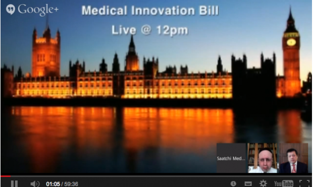 The Saatchi Innovation Bill – LIVE from the House of Lords